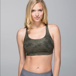 lululemon athletica Intimates & Sleepwear - Lululemon Energy Bra Size 12 Camo